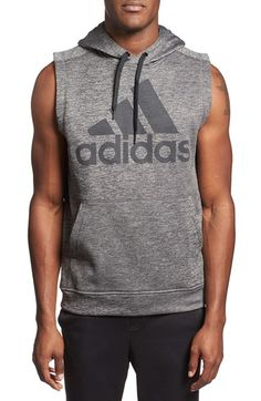 adidas Sleeveless Training Hoodie