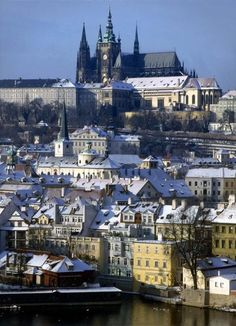 Winter is a great time to visit Prague. The snow is covering towers and spires of its fairytale skyline and it provides a perfect scenery fo...