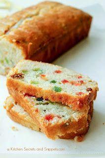 Kitchen Secrets and Snippets: Eggless Vanilla Sponge Cake / Eggless Christmas Fruit Cake
