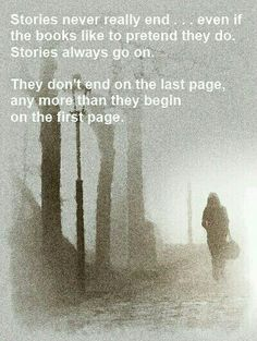 Stories never really end...