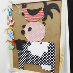 farm animals made of cardboard