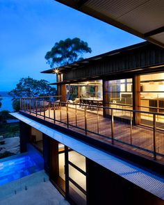 Gallery Of Pacific House Casey Brown Architecture 8 Space Architecture Amazing Architecture