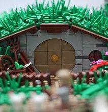 LEGO Hobbit Hole (Bag End miniature replica)