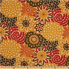 Waverly Button Blooms Harvest $13.58