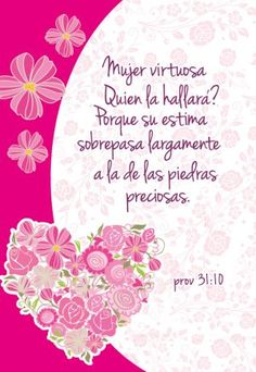 Spanish Mothers Day Poems, Happy Mothers Day, Gods Love Quotes, Good Day Quotes, Christian Women's Ministry, Christian Verses, Christian Wallpaper, Paper Flower Wall, Mothers Day Flowers