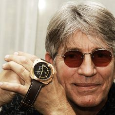 Eric Roberts showing off his Brigade Rose by Egard Watch Company