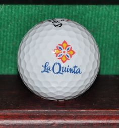 La Quinta Golf Club Palm Desert California Logo Golf Ball. Callaway