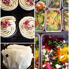 Photo shooting catering is something Miss Daisy has grown to love. And today she is packing individual Daisy Bags for her clients who are filming on site I am not sure if they expected this weather. I absolutely love it as each job I have done they all comment on how different it is and my packaging. So today all wrapped up Daisy's Chicken sandwiches beetroot carpaccio salad and cupcake with a mineral water. Now I would be happy with that. X #daisydining #daylesford #catering…