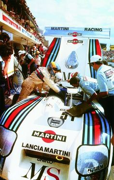 MARTINI Racing Lancia #RracingFriday Every Week at blog.rvinyl.com