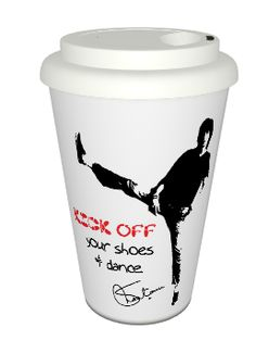 Kick Off Your Shoes Café Mug  come have coffee with maheshwari!
