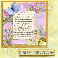 Mothers Day, a project by daisymac  #digital #craft #cardmaking #daisytrail #craftartist #serif #butterfly
