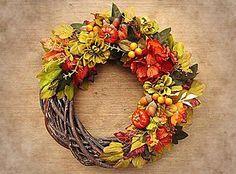 Dekorácie - Jesenny veniec - 6047310_