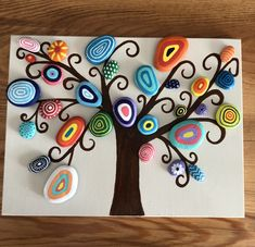 Stone Crafts, Rock Crafts, Clay Crafts, Diy And Crafts, Arts And Crafts, Creative Wall Decor, Creative Art, Ceramic Painting, Stone Painting