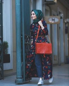 Hijab outfits for petite girls – Just Trendy Girls Hijab Fashion Casual, Hijab Casual, Street Hijab Fashion, Hijab Chic, Abaya Fashion, Modest Fashion, Fashion Outfits, Women's Casual, Emo Fashion