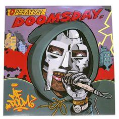 Rappcats » MF DOOM – Operation Doomsday – Red & Black Vinyl