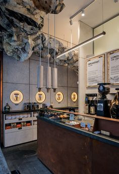 Single Origin Roasters | York St, Sydney | design by Luchetti Krelle | photography by Michael Wee