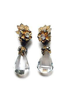 Vintage Miriam Haskell Rhinestone Floral by TheOpulentHippo, $285.00