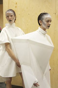 Backstage at the 2012 White Show | Fashion, Inside CSM, Projects | 1 Granary