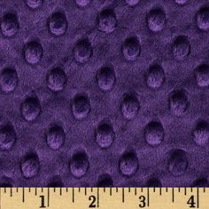 This adorable, soft and cuddly fabric has a smooth minky surface with dimple-like embossing, 3 mm pile, 400 grams and is perfect for creating blankets, baby accessories, plush toys, quilt backings and more!