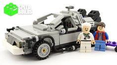 Lego Ideas Back to the Future - The DeLorean time machine - Lego 21103 S...