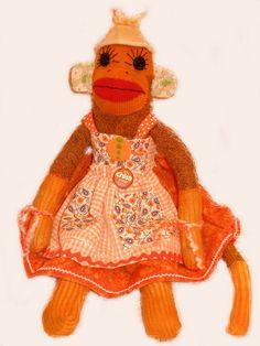 even a sock monkey sets a trend!