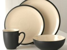 Cook & Dine Black 4 Piece Dinner Set Was £24.50 | Now £19.60 http://tidd.ly/84dec34b