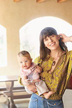 Milla Jovovich & Daughter