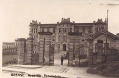Hospital Provincial de Ourense, tamén denominado Hospital das Lagoas e Hospital Modelo. Arquitecto provincial, Joaquín Rojí, proxecto febreiro 1909. A súa construción iniciouse en 1911.