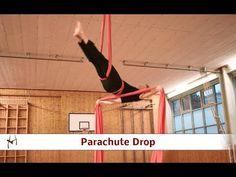 Aerial Silks Tutorial - Parachute - YouTube