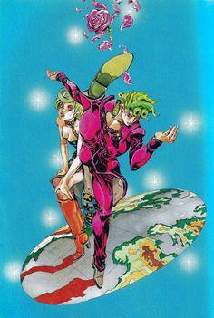 Jojo's Bizarre Adventure Anime, Jojo Bizzare Adventure, Manga Art, Manga Anime, Anime Art, Jojo Parts, Jojo Anime, Fanart, Manga Covers