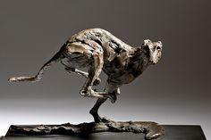 'Speed' - Racing Greyhound By Jane Shaw (www.janeshawsculpture.com)