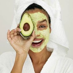 The same fresh, natural ingredients you use in your recipes can do wonders for your skin. Whole fruits and vegetables—especially those with anti-aging vitamin C—can fight free radicals, prevent wrinkles, and give you firmer, younger-looking skin. #beauty | health.com