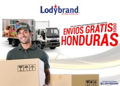 Arte para servicio de Entrega en HONDURAS, la compañía LODYBRAND , art by #HeizelArtz