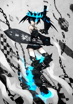 Black Rock Shooter Beast by qrullgx13.deviantart.com on @deviantART