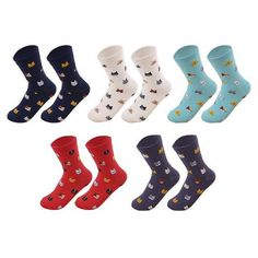 Oil Painting Colors-Women and Girls Casual No Show Athletic Cotton Liner Sock 5pack