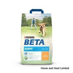Beta Puppy with Chicken 2 5kg Beta Puppy with Chicken provides young dogs with the wide array of nutrients that they need for the healthy development of their physical & cognitive health.
