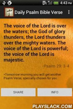 Free Daily Bible Verses Psalms  Android App - playslack.com , Daily in the morning you will get New Testament Bible free quotes or Old Testament Bible Free. We collected these daily Psalms Bible quotes from The Holy Bible New International Version NIV free download & The Holy Bible New King James version NKJV. Our app shows you just one Psalms Bible verse daily. Psalms Daily Bible Verse app delivers you with enlightening Psalms Bible verses daily. Our specially chosen Psalms daily Bible…