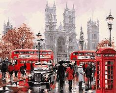 DIY Paint By Numbers - London City Tours