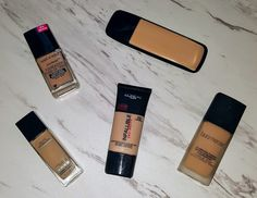Top 5 Favorite Foundations for Combo/Oily Skin
