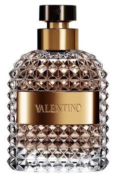 I LOVE this bottle!! It reminds me of whiskey decanters Mommy used to have.  Valentino 'Uomo' Fragrance