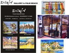 DUAIV opened in 2011 his own gallery in Worth Avenue in Palm Beach, FL