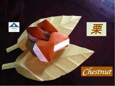 Origami Chestnut 栗の折り方 - YouTube