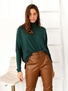 Μπλούζα Πλεκτή Ζιβάγκο Κυπαρισσί - Flexibility Turtle Neck, Sweaters, Shirts, Tops, Fashion, Moda, Fashion Styles, Pullover, Sweater