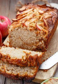 Apple Cinnamon Bread with Caramel