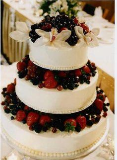 Yummy, fruit cake ..