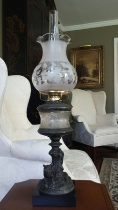 Victorian Lamps, Antique Oil Lamps, Lanterns, Nostalgia, Lighting, Elegant, Antiques, Beauty, Home Decor