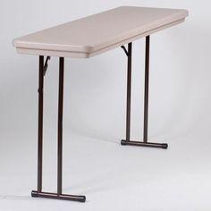 Rectangular Folding Table Size: 30 x 60