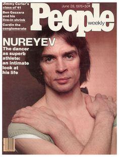 Nureyev on the cover of 'People', June 28, 1976.