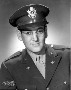 Major Glenn Miller (1904 - 1944).  While he was traveling to entertain U.S. troops in France during World War II, Glenn Miller disappeared in bad weather over the English Channel. The Glenn Miller Orchestra was re-formed after the war and continues to record and perform to this day.