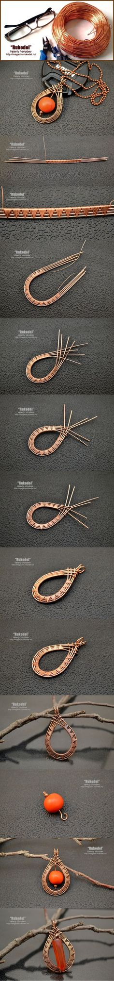 Wire Wrap Tutorial - http://magazin-rukodel.ru/: